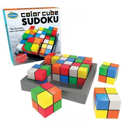 Brainteaser Color Cube Sudoku