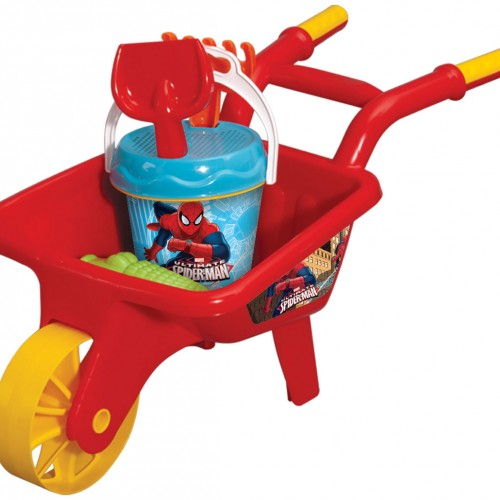 Wheel Barrow Beach Set Spiderman