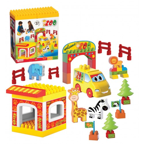 Zoo Blocks 37 pcs