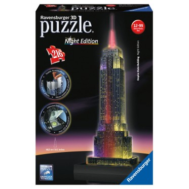 3D Puzzle Buildings Night Edition (11)