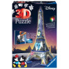 3D Puzzle Night Edition 216 pcs Eiffel Tower Disney
