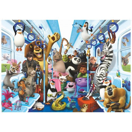 1000 pcs DC Puzzle Universal Multiproperty