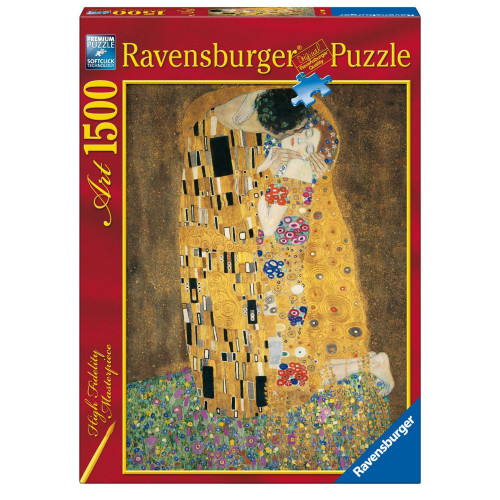 1500 pcs Puzzle Klimt: The Kiss