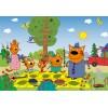 2x12 pcs Puzzle Cat Family