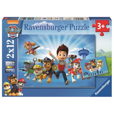 2x12 pcs Puzzle Paw Patrol
