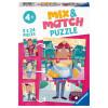 2x24 pcs Mix & Match Puzzle Favourite Jobs