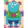 2x24 pcs Mix & Match Puzzle Monsters