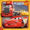 3x49 pcs Puzzle Cars 3
