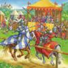 3x49 pcs Puzzle Knights