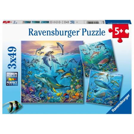 3x49 pcs Puzzle Ocean
