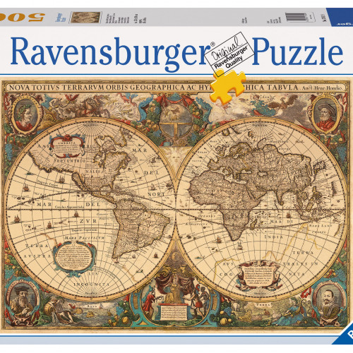 5000 pcs Puzzle Historical Map