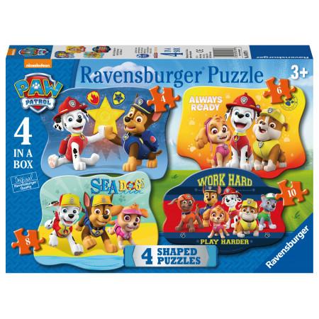 My First Puzzles 4/6/8/10 pcs Paw Patrol