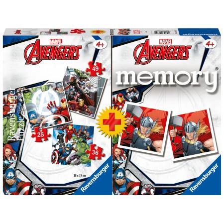 Memory® + 3 Puzzles Avengers