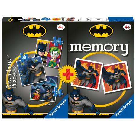Memory® + 3 Puzzles Batman