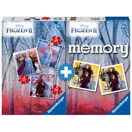 Memory® + 3 Puzzles Frozen II