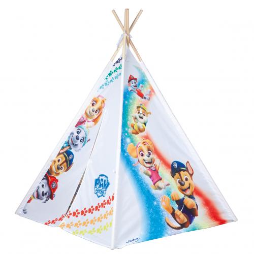 Wooden Tepee Tent Paw Patrol